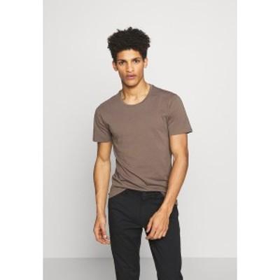 ドライコーン メンズ Tシャツ トップス CARLO - Basic T-shirt - khaki khaki