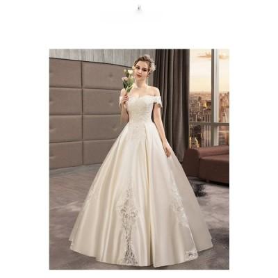 プリンセスラインドレス ウエディングドレス 結婚式 フォーマルドレス wedding dress 花嫁 ブライダル 結婚式 二次会 プリンセスライン ロングドレス