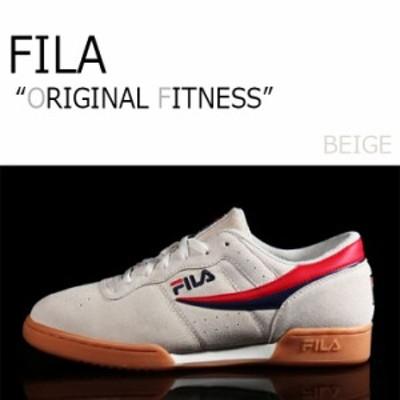 フィラ スニーカー FILA メンズ レディース ORIGINAL FITNESS オリジナルフィットネス O.F BEIGE ベージュ F1XKY5902 シューズ