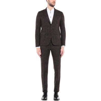ブライアン デールズ BRIAN DALES スーツ ココア 50 ウール 41% / コットン 32% / ナイロン 20% / レーヨン 4%