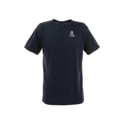 ジローム(GIRAUDM) 洗っても機能が続く UV 吸汗速乾 放熱素材 ドライプラスサイクルエアー 半袖Tシャツ 863GM1DT6691 NVY (メンズ)