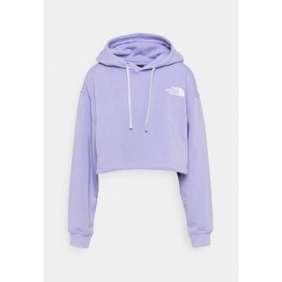 ノースフェイス パーカー・スウェットシャツ レディース アウター TREND CROP DROP HOODIE - Sweatshirt - sweet lavender
