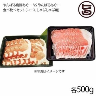 ギフト フレッシュミートがなは やんばる島豚VSやんばるあぐー食べ比べセット 各500g 沖縄 肉 条件付き送料無料