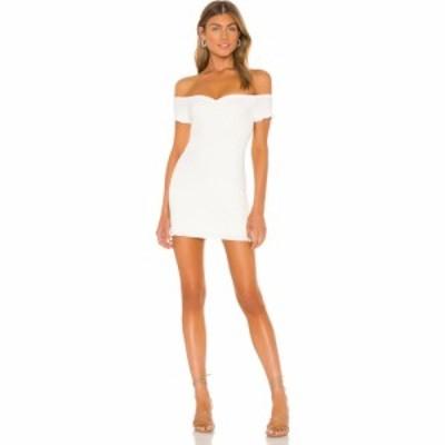ラヴァーズフレンズ Lovers + Friends レディース ワンピース ミニ丈 ワンピース・ドレス Anisha Mini Dress White