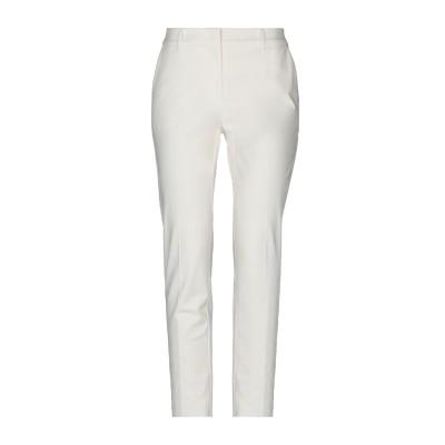 PENNYBLACK パンツ ホワイト 40 コットン 93% / ポリウレタン 7% パンツ