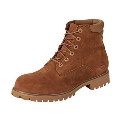 Timberland Men's Lace-up Boots, Brown Medium Brown Nubuck, 44 EU【並行輸入品】