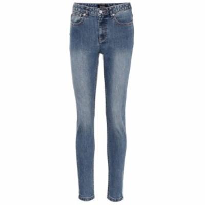 アーペーセー A.P.C. レディース ジーンズ・デニム ボトムス・パンツ High Standard skinny jeans Indigo Delave
