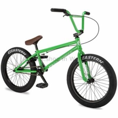 "BMX 2019イースタン20 ""BMXジャベリンバイクフリースタイルバイク3ピースクランクグリーンパープル  2019 East"