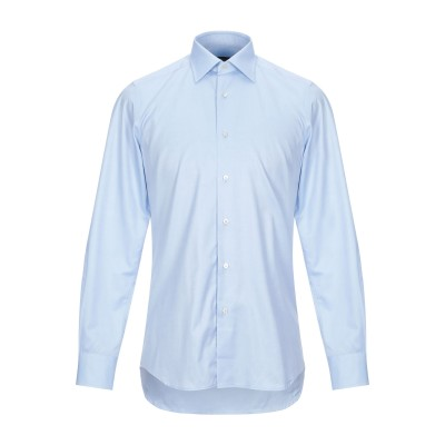 PAUL CLEMENTI シャツ スカイブルー 37 コットン 100% シャツ