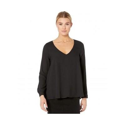 Karen Kane カレンケーン レディース 女性用 ファッション ブラウス Cross-Back Top - Black