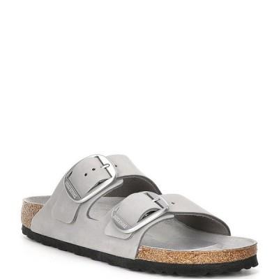 ビルケンシュトック レディース サンダル シューズ Women's Arizona Suede Leather Big Buckle Sandals Dove Grey