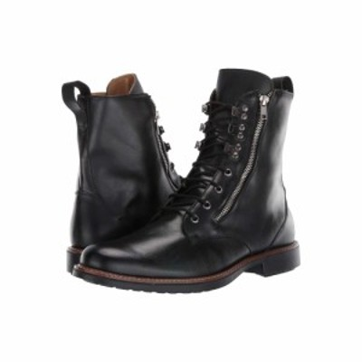 マッテオ マッシモ Massimo Matteo メンズ ブーツ シューズ・靴 Side Zip Boot Black