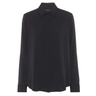 ザ ロウ The Row レディース ブラウス・シャツ トップス Petah silk shirt Black