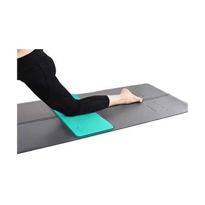 heathyogaヨガ膝パッドby Great for膝と肘while doing yoga and床練習、ガーデニング、ヤードをひざまずいパッドWo