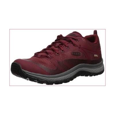 KEEN Women's Terradora WP Hiking Shoe, Merlot/Raven, 5 M US(並行輸入品)