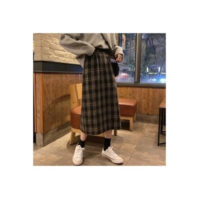 【送料無料】秋服 女 レトロ 何でも似合う ハイウエスト 着やせ ゴム入りの | 364331_A63758-2826883