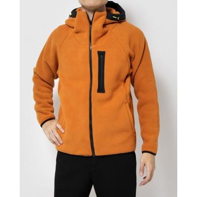 ティゴラ TIGORA SMART フリースジャケット  メンズ トレーニングウェア TR-9A1630FJ (オレンジ)