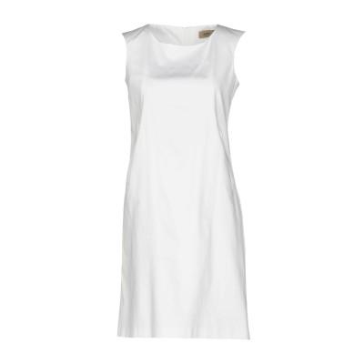 NENAH® ミニワンピース&ドレス ホワイト XS コットン 96% / ポリウレタン 4% ミニワンピース&ドレス