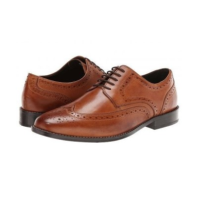 Nunn Bush ナンブッシュ メンズ 男性用 シューズ 靴 オックスフォード 紳士靴 通勤靴 Nelson Wing Tip Dress Casual Oxford - Cognac