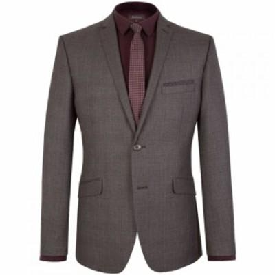 ライムハウス Limehaus メンズ スーツ・ジャケット アウター Check Notch Collar Slim Fit Suit Jacket Charcoal