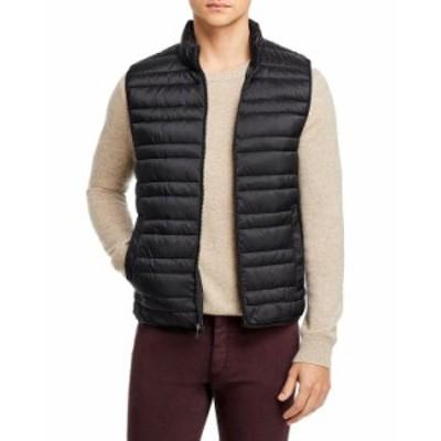 マイケルコース メンズ ジャケット・ブルゾン アウター Lightweight Quilted Vest Black