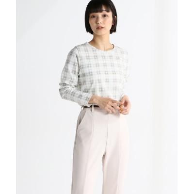 (Honeys/ハニーズ)総柄Tシャツ/レディース ベージュ