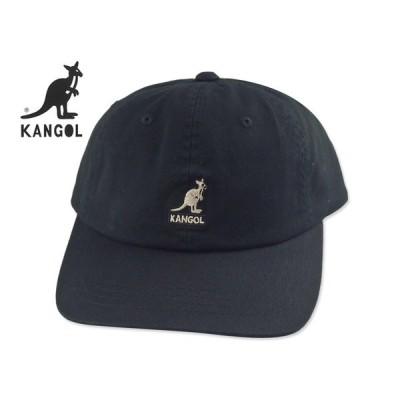 ☆KANGOL【カンゴール】WASHED BASEBALL BLACK ウォッシュド ブラック 15679