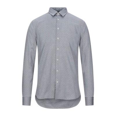SSEINSE シャツ スチールグレー S コットン 100% シャツ
