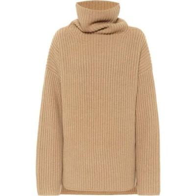 ジョゼフ Joseph レディース ニット・セーター トップス Oversized wool turtleneck sweater Light Cognac