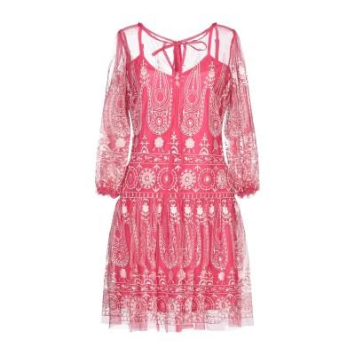 LA KORE ミニワンピース&ドレス フューシャ 0 ナイロン 100% ミニワンピース&ドレス