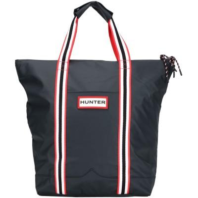 ハンター HUNTER ハンドバッグ ブラック ポリ塩化ビニル 100% ハンドバッグ