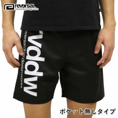 リバーサル ショートパンツ メンズ REVERSAL 正規販売店 NEW rvddw SHORTS BASIC BLACK