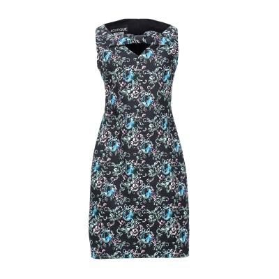 BOUTIQUE MOSCHINO ミニワンピース&ドレス ブラック 38 100% コットン ミニワンピース&ドレス