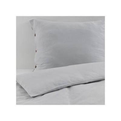 IKEA イケア 掛け布団カバー&枕カバー ライトグレー 150x200/50x60cm ヴェグティステル VAGTISTEL