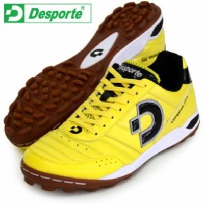 カンピーナス JTF 5【Desporte】デスポルチ ● フットサルシューズ 屋外用17FW(DS1440-YEL/BLK)