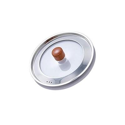 特別価格FRCOLOR Universal Pans Pots Lid Cover Stainless Steel and Glass Lid with He好評販売中