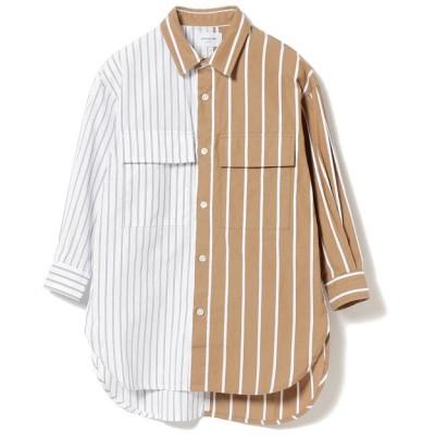 (こどもビームス/コドモビームス)ARCH&LINE / スーパーBIG クレイジー シャツ 20(100~145cm)/ WHITE