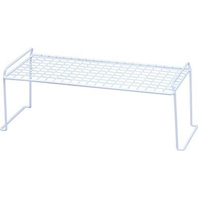アイリスオーヤマ スタッキング ワイヤー シェルフ 幅60.4×奥行40.6×高さ30.4cm ホワイト WSS-105