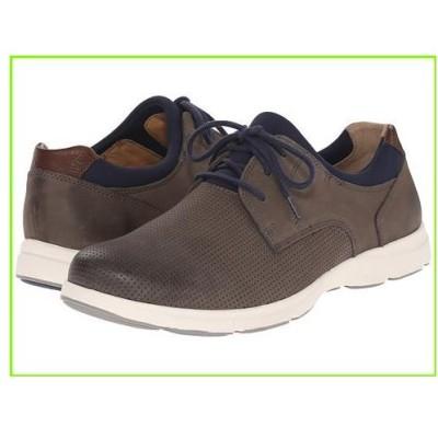 Johnston & Murphy Warren Perfed Plain Toe ジョンストン&マーフィー Sneakers & Athletic Shoes MEN メンズ Gray Nubuck