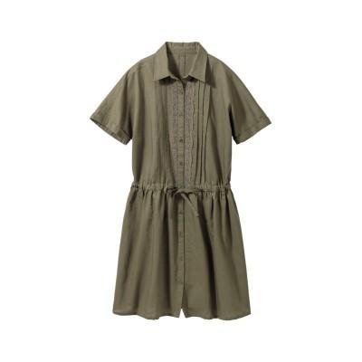 【大きいサイズ】 衿付きレースチュニック plus size tops, テレワーク, 在宅, リモート