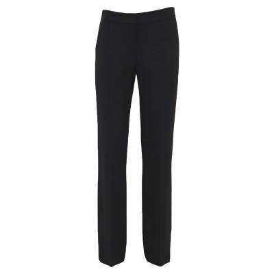 ヌメロ ヴェントゥーノ N°21 パンツ ブラック 38 アセテート 72% / レーヨン 28% パンツ