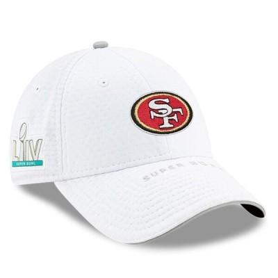 NFL 49ers キャップ/帽子 第54回スーパーボウル出場 サイドライン ストレッチ 9FORTY ニューエラ/New Era ホワイト