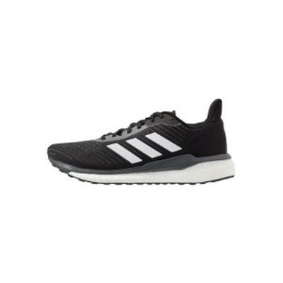 アディダス メンズ ランニング スポーツ SOLAR DRIVE 19 - Neutral running shoes - core black/footwear white/grey six core black/foo