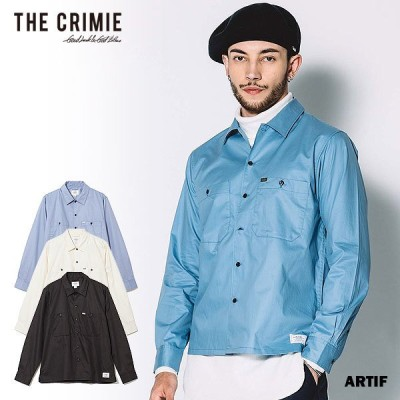 セール SALE CRIMIE クライミー 長袖 シャツ ワークシャツ ROBERT WORK SHIRT メンズ おしゃれ