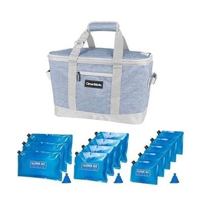 Cooler + Reusable Ice Packs