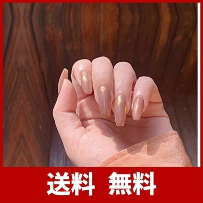 24Pcs 可愛い 人気 おしゃれな上級ネイルシール 長さ 付け爪 つけ爪 フルチップ ハンドメイド 結婚式 パーティー 二次会