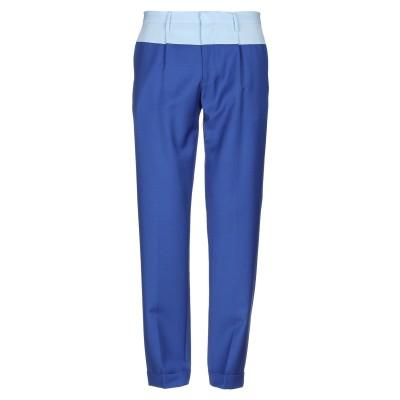 HILFIGER COLLECTION パンツ ブルー 31W-32L バージンウール 78% / モヘヤ 22% パンツ