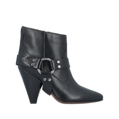 BUTTERO ショートブーツ ファッション  レディースファッション  レディースシューズ  ブーツ  その他ブーツ ブラック