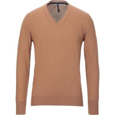 メッサジェリエ MESSAGERIE メンズ ニット・セーター トップス sweater Camel