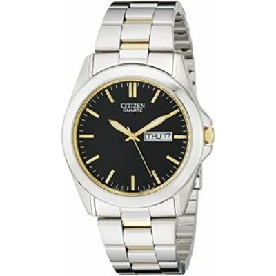 腕時計 シチズン 逆輸入 Citizen Men's Quartz Stainless Steel Watch with Day/Date, BF0584-56E